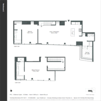 floorplan for 133 West 22nd Street #PHC