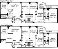 floorplan for 420 East 72nd Street #17JK