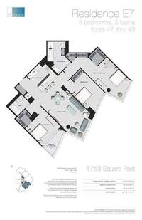 floorplan for 77 - Hudson Street #4705