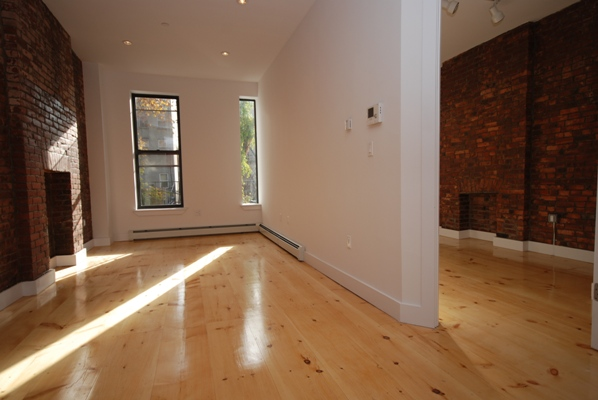 BRAND NEW LUXURY APT ~ GUT RENOVATED ~ ROOF DECK ~ W/D ~ A,C TRAIN ~ NO FEE