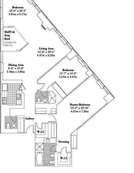 StreetEasy: 146 West 57th St. #74A - Condo Apartment Sale at Metropolitan Tower Condominium in Midtown, Manhattan