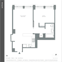 floorplan for 133 West 22nd Street #4K