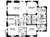 floorplan for 781 Fifth Avenue #31TOWER