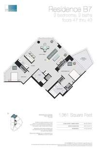 floorplan for 77 - Hudson Street #4702