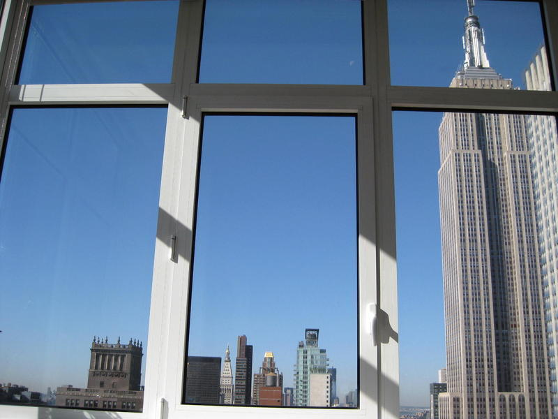 42nd Floor on 5th Ave, Open South East Corner view. Double high windows & 11 ft ceilings. Luxury Re-design. Best in building