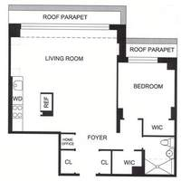 floorplan for 7 East 14th Street #21D