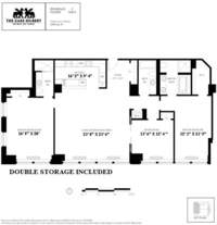 floorplan for 130 West 30th Street #11C