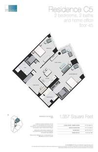 floorplan for 77 - Hudson Street #4503