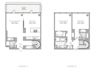 floorplan for 101 Warren Street #11I