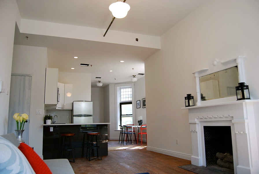 Landmark, turn of the century mansion conversion! Full floor gut renovated 3BR/2BA