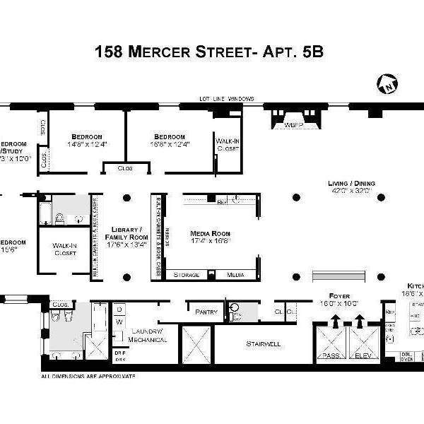 StreetEasy: 158 Mercer St. #5B - Condo Apartment Sale in Soho, Manhattan