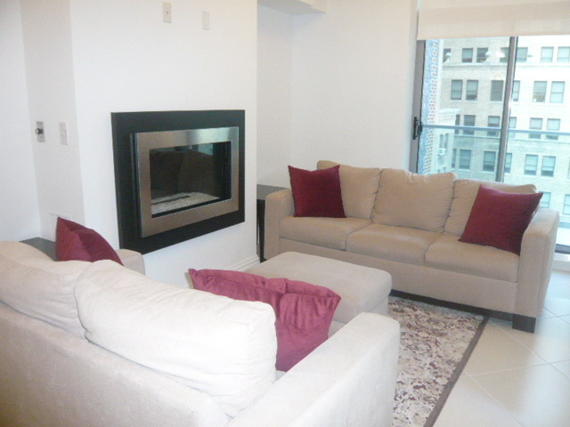 Brand New Condo One Bedroom with Fireplace