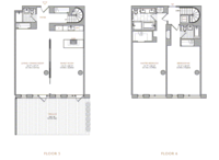floorplan for 101 Warren Street #5J