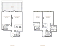 floorplan for 101 Warren Street #5C