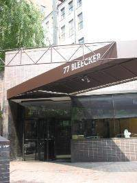 Bleecker Court at 77 Bleecker Street in Greenwich Village