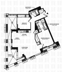 floorplan for 150 Myrtle Avenue #603