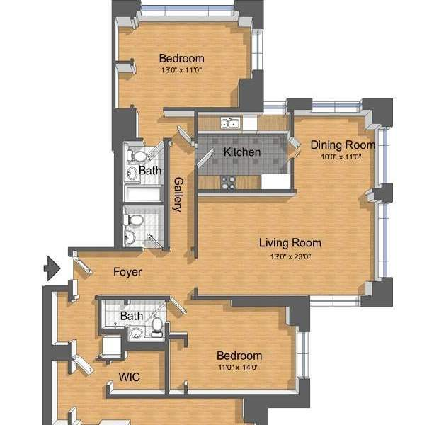 Charmed house floor plan charmed house blueprint by for Charmed house blueprints