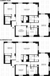 floorplan for 188 East 70th Street #22A
