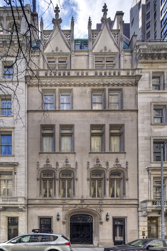 4 east 80th st in upper east side sales rentals for Townhouses for sale in manhattan ny
