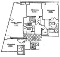 floorplan for 10 West Street #37A
