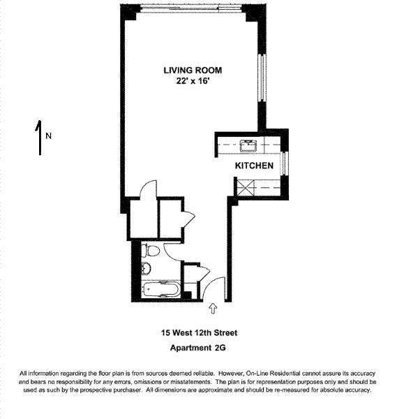15 West 12th Street - Apt: 2G