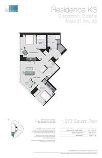 floorplan for 77 - Hudson Street #4110