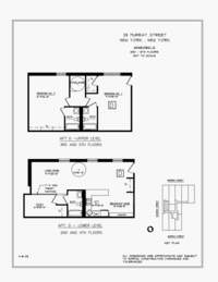 floorplan for 25 Murray Street #2D