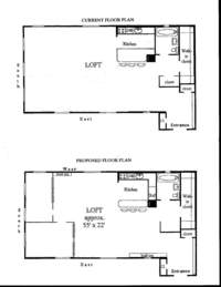 floorplan for 395 Broadway #13E