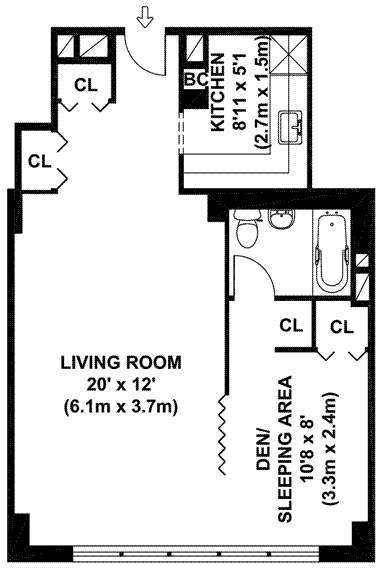 SUPER SIZED JUNIOR ONE BEDROOM