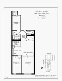floorplan for 25 Murray Street #2A