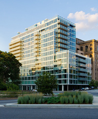 Richard Meier on Prospect Park at 1 Grand Army Plaza in Prospect Heights