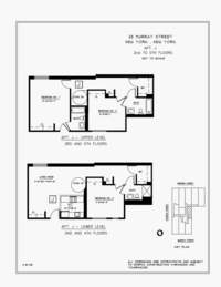 floorplan for 25 Murray Street #2J