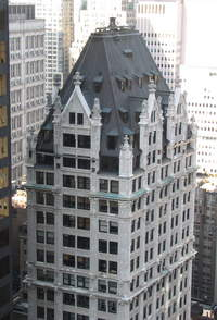 Liberty Tower at 55 Liberty Street in Financial District