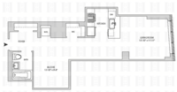 floorplan for 164 Kent Avenue #4W