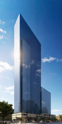One MiMA Tower at 460 West 42nd Street in Midtown West