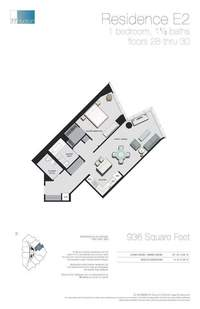 floorplan for 77 - Hudson Street #3005