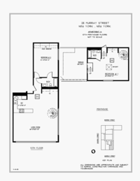 floorplan for 25 Murray Street #PH10H