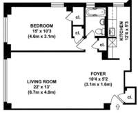 floorplan for 200 East 36th Street