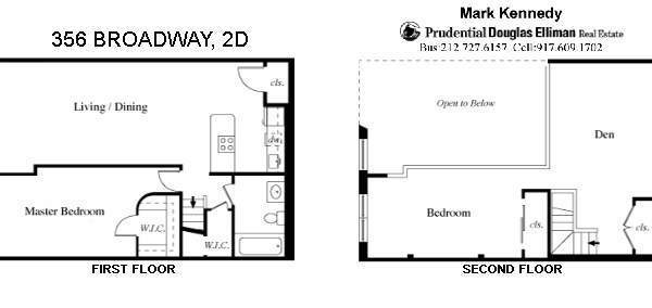 StreetEasy: 356 Broadway #2D - Condo Apartment Sale in Tribeca, Manhattan