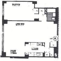floorplan for 401 East 74th Street #3A