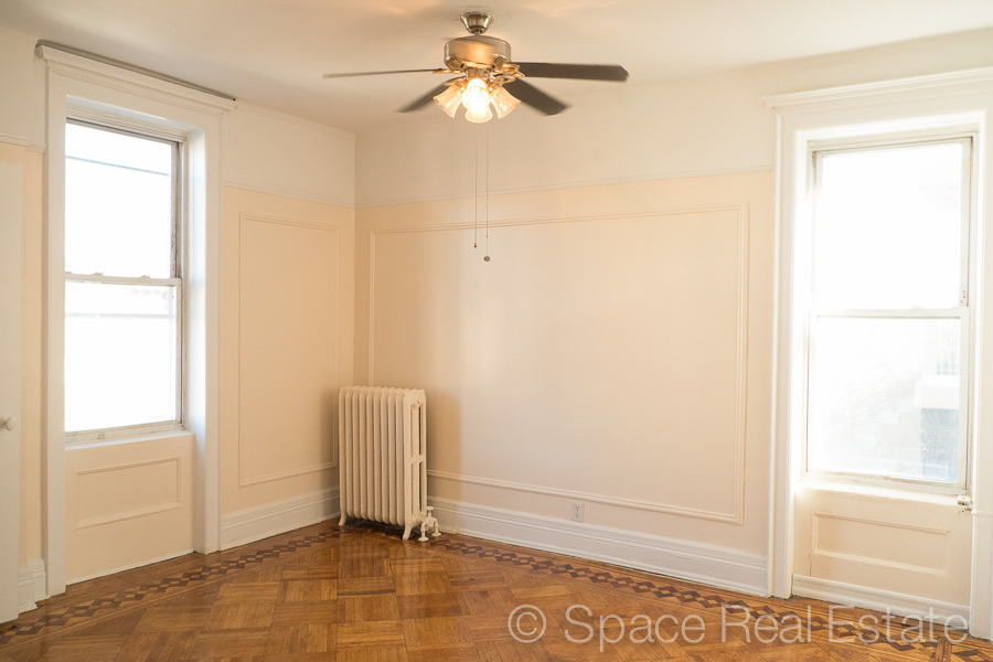 SPACIOUS 3 BR CONVERTIBLE IN 4 BR AT THE CORNER OF ST JOHNS PL & NEW YORK AVE