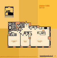 floorplan for 114 East 32nd Street #1404