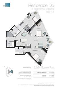 floorplan for 77 - Hudson Street #4504