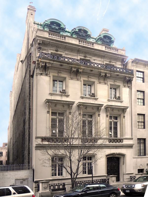 18 east 68th st townhouse sale in lenox hill manhattan for Manhattan mansions for sale