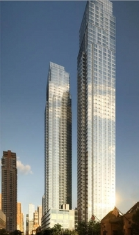 Silver Towers at 600 West 42nd Street in Clinton