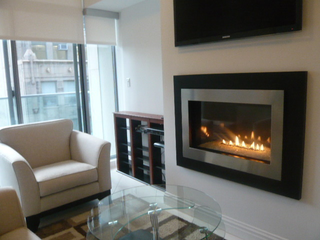 Brand New Construction Balcony & Fireplace