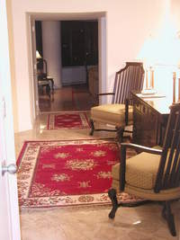 Spacious Fully Furnished three bedrooms three full bathrooms a corner sunny apartment NO Broker FEE 12-N
