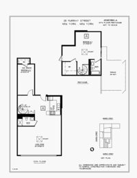 floorplan for 25 Murray Street #PH10A