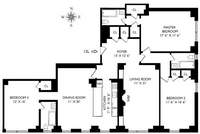 floorplan for 205 East 78th Street #12L