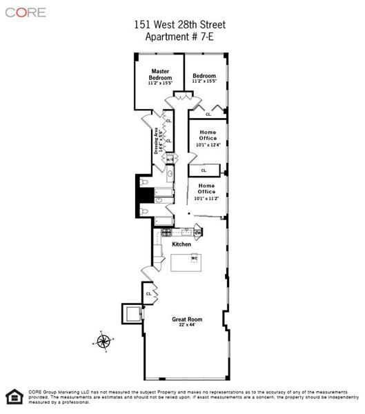 Long Narrow Apartment Floor Plans Gurus Floor